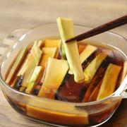 もうブロッコリーの茎は余らせない!ブロッコリーの茎がおいしいポリポリめんつゆごま油漬けの作り方。