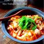 ♡煮込み5分deピリっと旨辛♡豚肉と豆腐のキムチ煮♡【#簡単#時短#節約#ヘルシー】