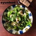 【簡単!!副菜*豆腐と野菜のレシピ】ちぎり豆腐と葉野菜のサラダと、やみつきフライドポテト