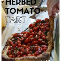 持ち寄りに:トマトとハーブのタルト