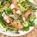 ローストチキンとクレソンのサラダ他 昼ごはん色々。