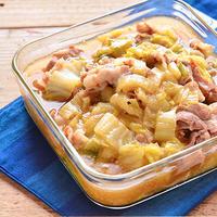 旨味たっぷり。白菜と豚バラ肉のうま煮
