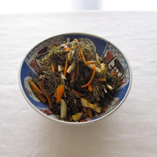 きざみ昆布の煮物