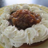 「ケーキのようなホットケーキミックス」で作るリンゴジャムパンケーキ!!
