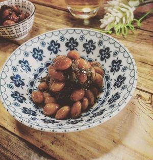 節分豆で☆乾燥大豆とダシ昆布の甘辛煮
