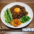 大豆ミートの夏ジャージャー麺のレシピ