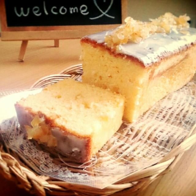 初夏のレモンケーキ(ブログ限定レシピ)