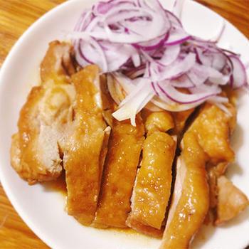 鶏の甘ずっぱ煮