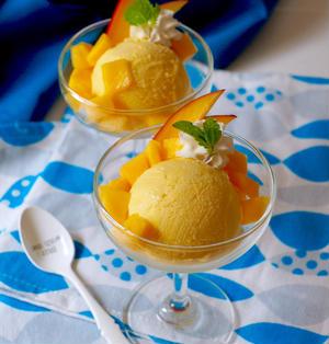 マンゴーアイスクリーム