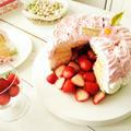 ひな祭りのかくれんぼショートケーキ《3色クリームデコレーション》