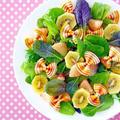 母の日に贈る♪ファルファリーニの花畑サラダ & シンガポールに行ってきました(マーライオン編) by みぃさん