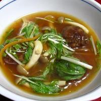 水菜と肉団子のシャキシャキ酢豚