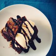 卵焼きフライパンで作る「かんたんチョコケーキ」