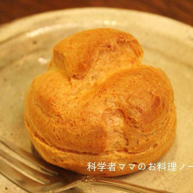 シュークリームレシピその2☆基本のシューの作り方とコツ