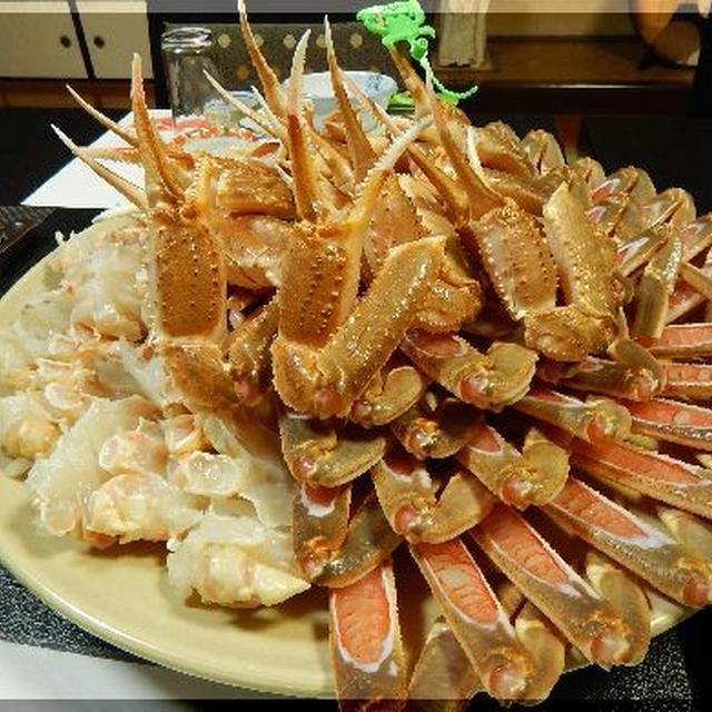 カニしか食べなくても、お腹いっぱい!~兵庫県香住