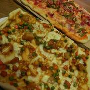 ポリ袋で簡単★カレーピザ