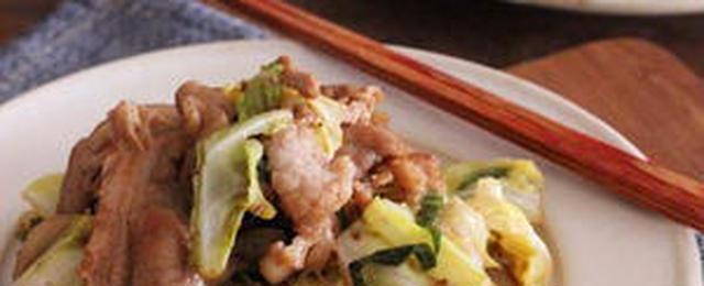 あっさりおいしい!豚と野菜の「ポン酢炒め」バリエ