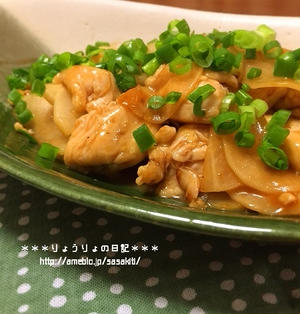 *【recipe】ささみと大根のオイスターソース炒め*