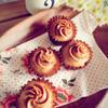 シナモン香るキャラメルバタークリームのミニケーキ