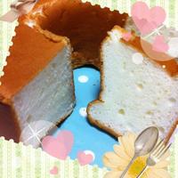 究極にカロリーダウンのシフォン風ケーキ