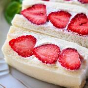 《レシピ動画》♡萌え断フルーツサンド♡【#食パン#簡単レシピ#朝食#おやつ#ひな祭り】