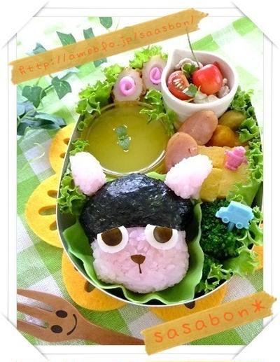 日村カンガルーのお弁当(キャラ弁)
