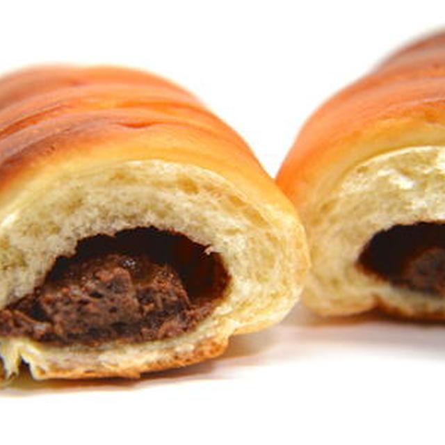 チョコカスタードパン