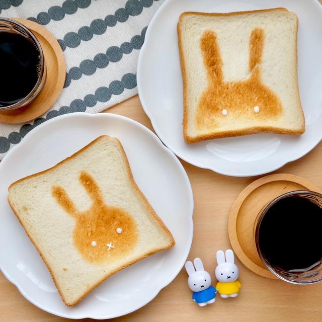 可愛すぎ♡5分で完成シルエット食パン#トーストアレンジ#朝ご飯#簡単