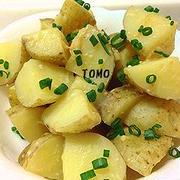 簡単おかず♪「味噌ジャガバター煮」と「小松菜のオイスターソース炒め」