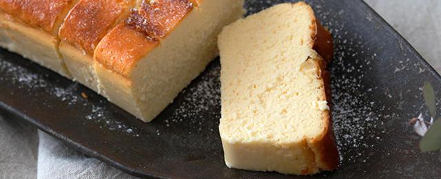 手で混ぜないから簡単!しっとりなめらか「チーズケーキテリーヌ」