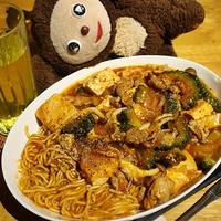 マーボーゴーヤー中華麺入り レシピ