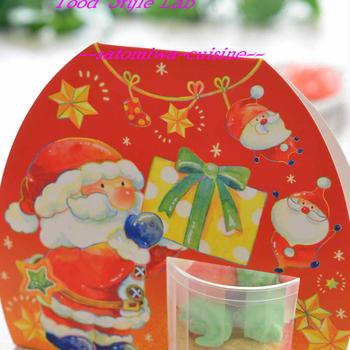 クリスマスカラーの可愛いメレンゲクッキー♡