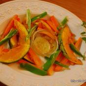エルブドプロバンス香る♪塩麹レモンハーブソースで 冬野菜のグリル焼き