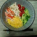 素麺の冷やし中華風^0^ by watakoさん