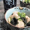 【レシピ】今が旬!ぷりっぷり!やみつき!鮭の白子とワカメのさっぱりめんつゆ煮(^^♪ by ☆s4☆さん