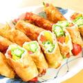 夏野菜☆オクラとパプリカの豚巻☆味噌焼き