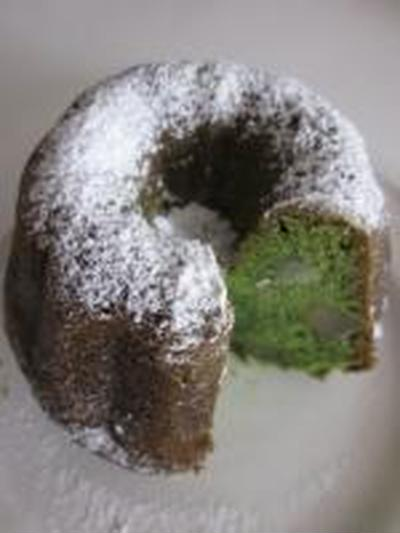 Spinich Chesnuts Cake