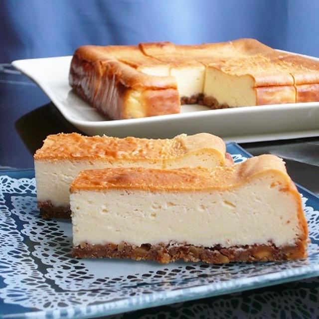 贅沢チーズケーキのつくりかた