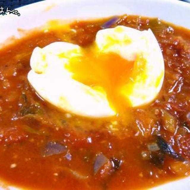 ベジタブル つけ麺風の トマトパスタ
