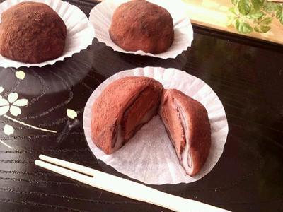 生チョコ大福《3分でできる求肥・電子レンジ使用・チョコレート》