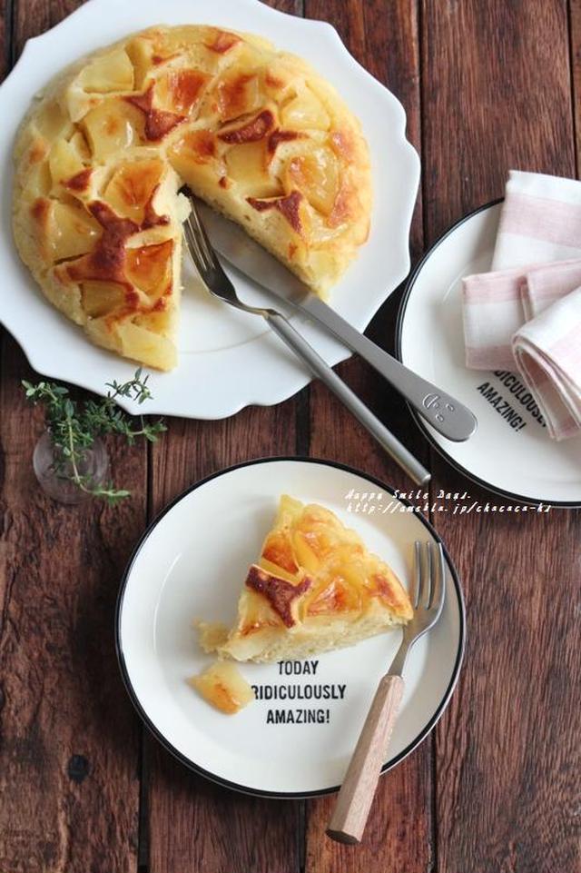 裏返して華やか♪「アップサイドダウンケーキ」の基本&アイデアレシピの画像