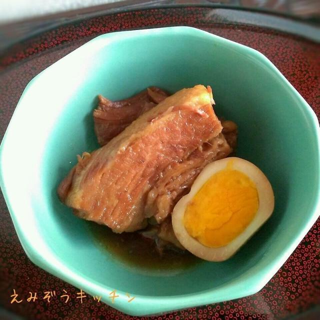 ○メープルシロップで断然美味しい!豚の角煮