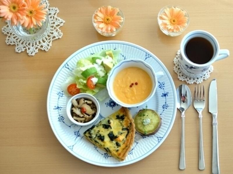 忙しくてもきちんと食べたい。ワンプレートの朝ごはん