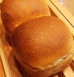 牛乳パック型でチーズ食パン