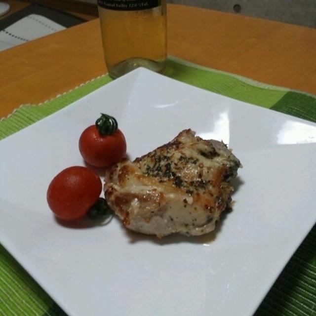チキンのハーブガーリック焼き