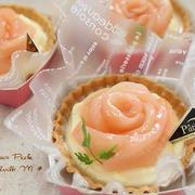 桃のタルトレット(タルトのお菓子)