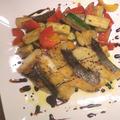 【シンプルで美味しいレシピ】スズキのポワレ バルサミコソース