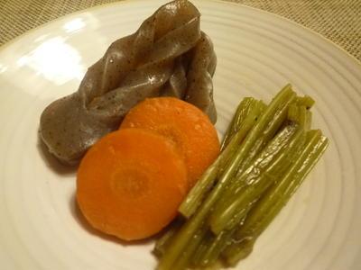 葉ごぼうの含め煮