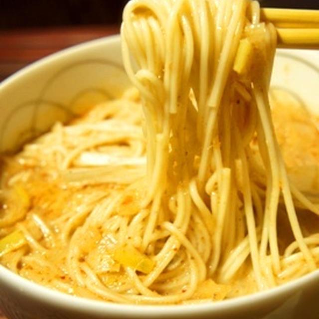 そうめんで簡単アジア麺、バリのカオソイ風素麺は昼から麦酒が呑みたい危険味