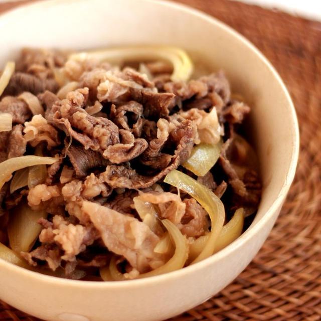煮込み時間5分!麺つゆDE簡単過ぎる牛丼